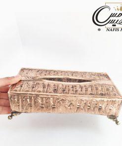 جا دستمال کاغذی مسی زنجان