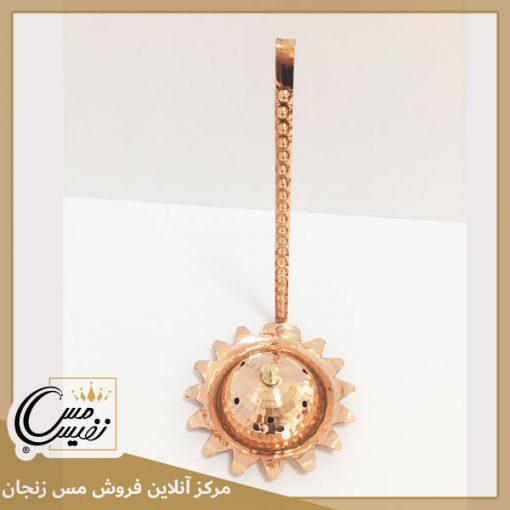 اسپند دود کن مسی طرح خورشیدی تولید زنجان