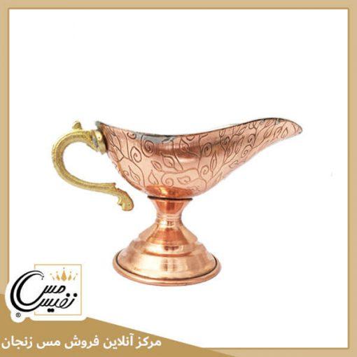 سس خوری مسی قلم کاری شده تولید زنجان