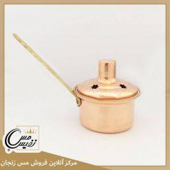 اسپند دود کن مسی دسته برنجی تولید زنجان