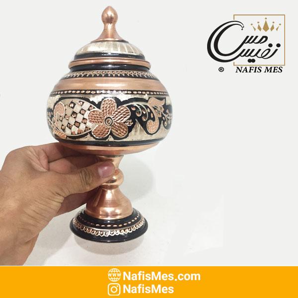شکلات خوری نقره کوب زنجان