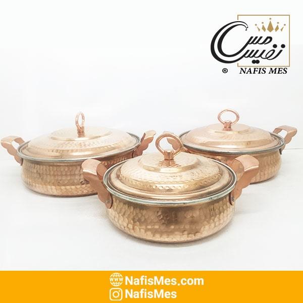 ماهیتابه مسی زنجان
